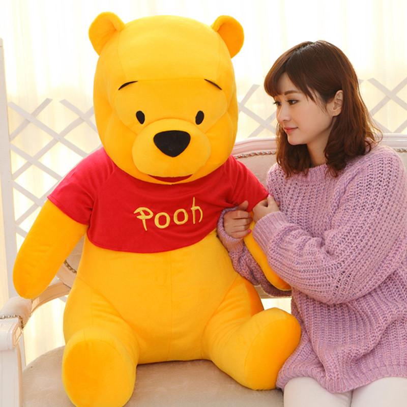 可爱小熊公仔大号抱抱熊儿童毛绒玩具娃娃小朋友生日礼物女