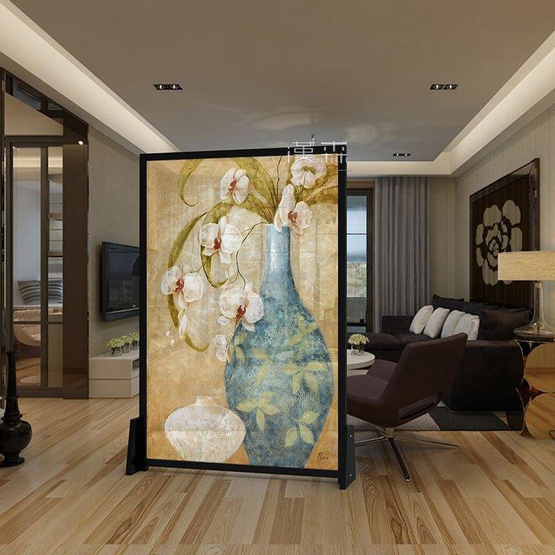 艾帛利aiboully现代欧式美式屏风隔断玄关客厅座屏 酒店办公室茶楼