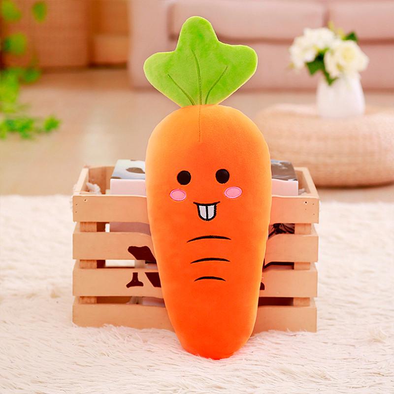 可爱胡萝卜抱枕毛绒玩具大萝卜公仔布娃娃抱着睡觉的玩偶女生礼物