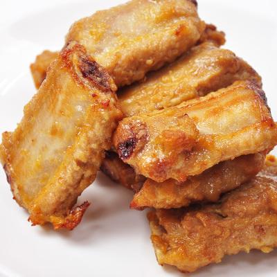 鲜聚汇 如意三煲 蒜香骨 腌制猪骨猪排骨 500g 半成品烧烤油炸食材