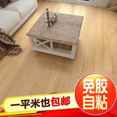 PVC地板自粘加厚防水塑胶地砖塑料地板革自贴地板卧室家用地板纸壹德壹