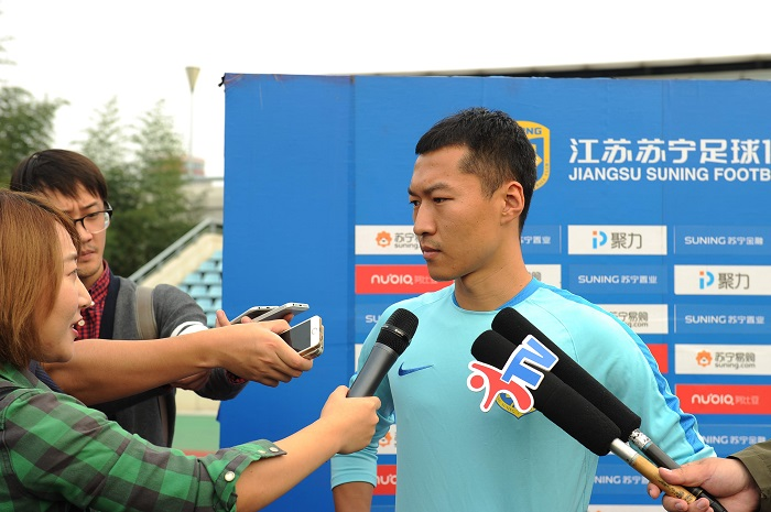 吴曦:对教练理解更深 盼赢下与恒大比赛
