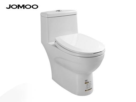 jomoo九牧节水虹吸排污舒洁釉面陶瓷座坐便器11173/300坑距