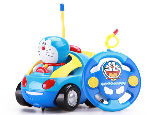 【益米】哆啦a梦 q版玩具遥控车830款 爆款低价促销
