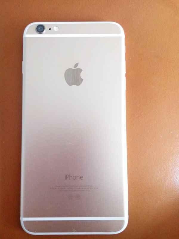 iphone6p 土豪金64g