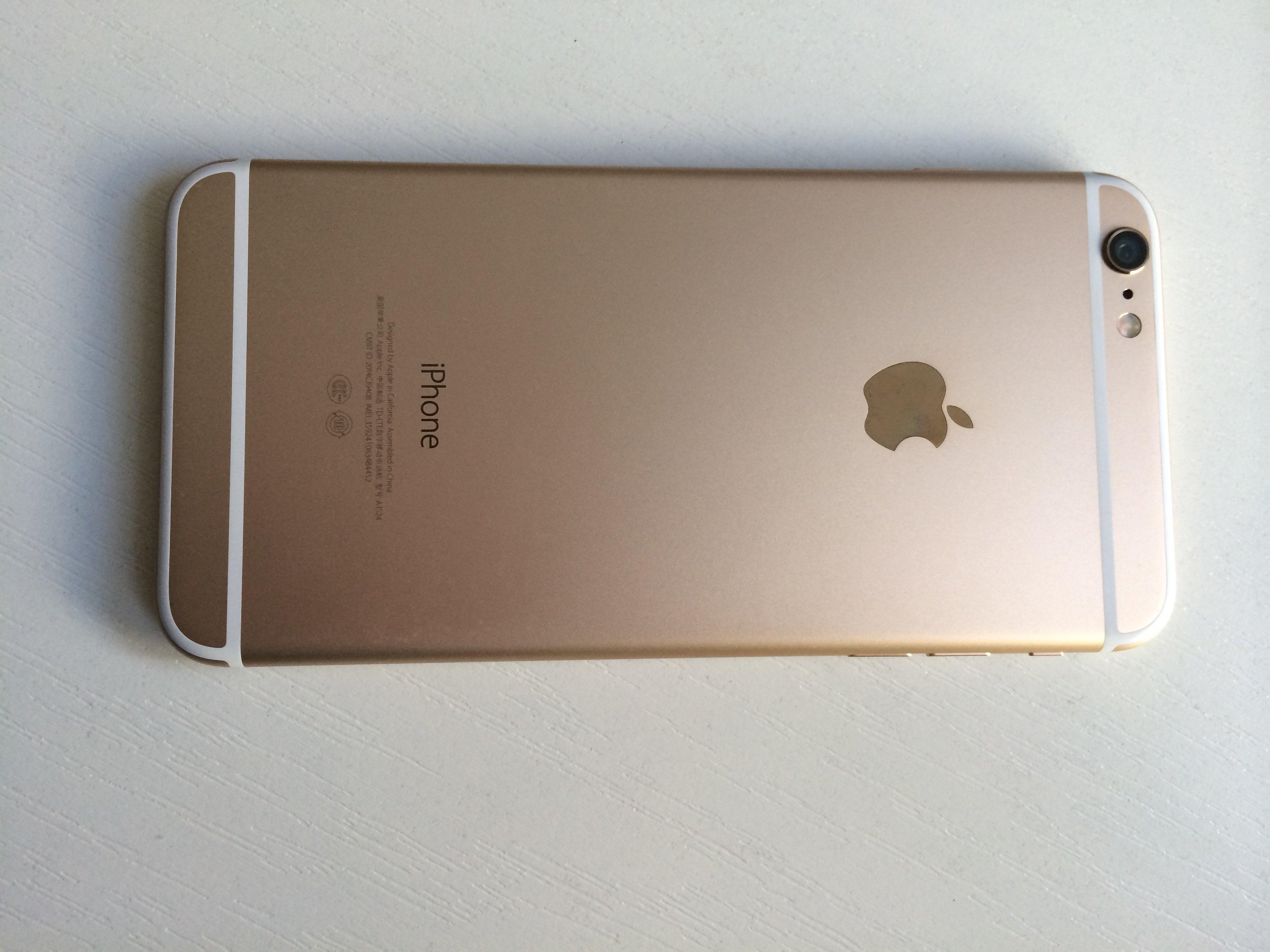 苹果6plus外裂
