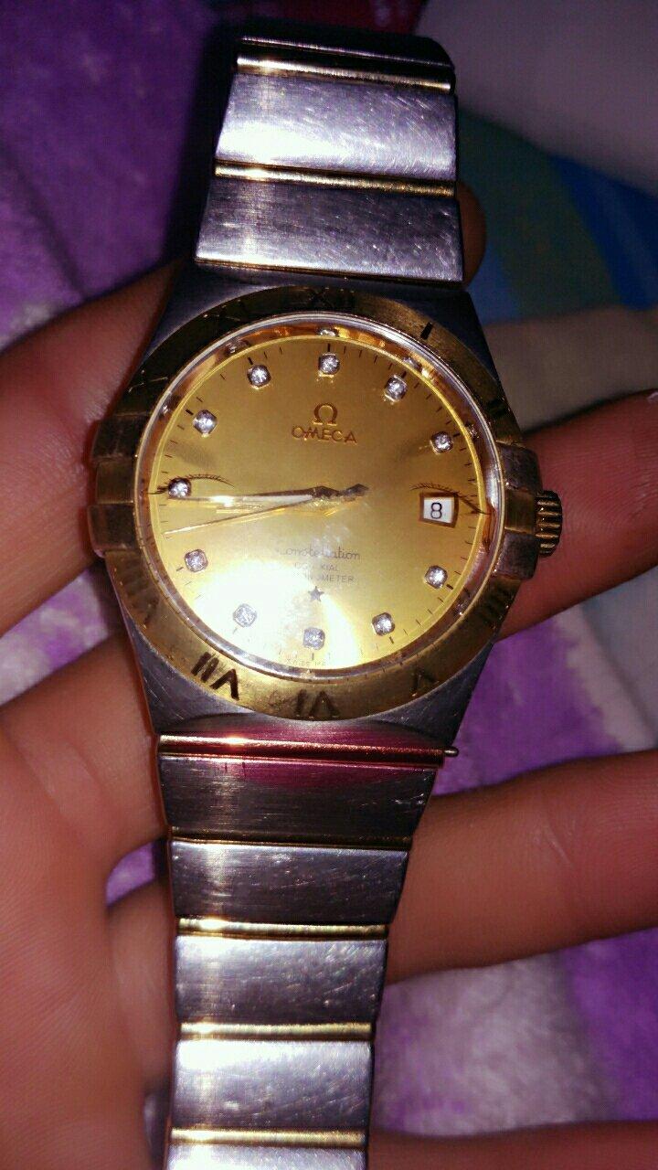 九成新欧米茄Ω星座系列男款手表图片