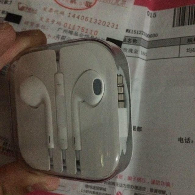 二手苹果6s原装耳机交易