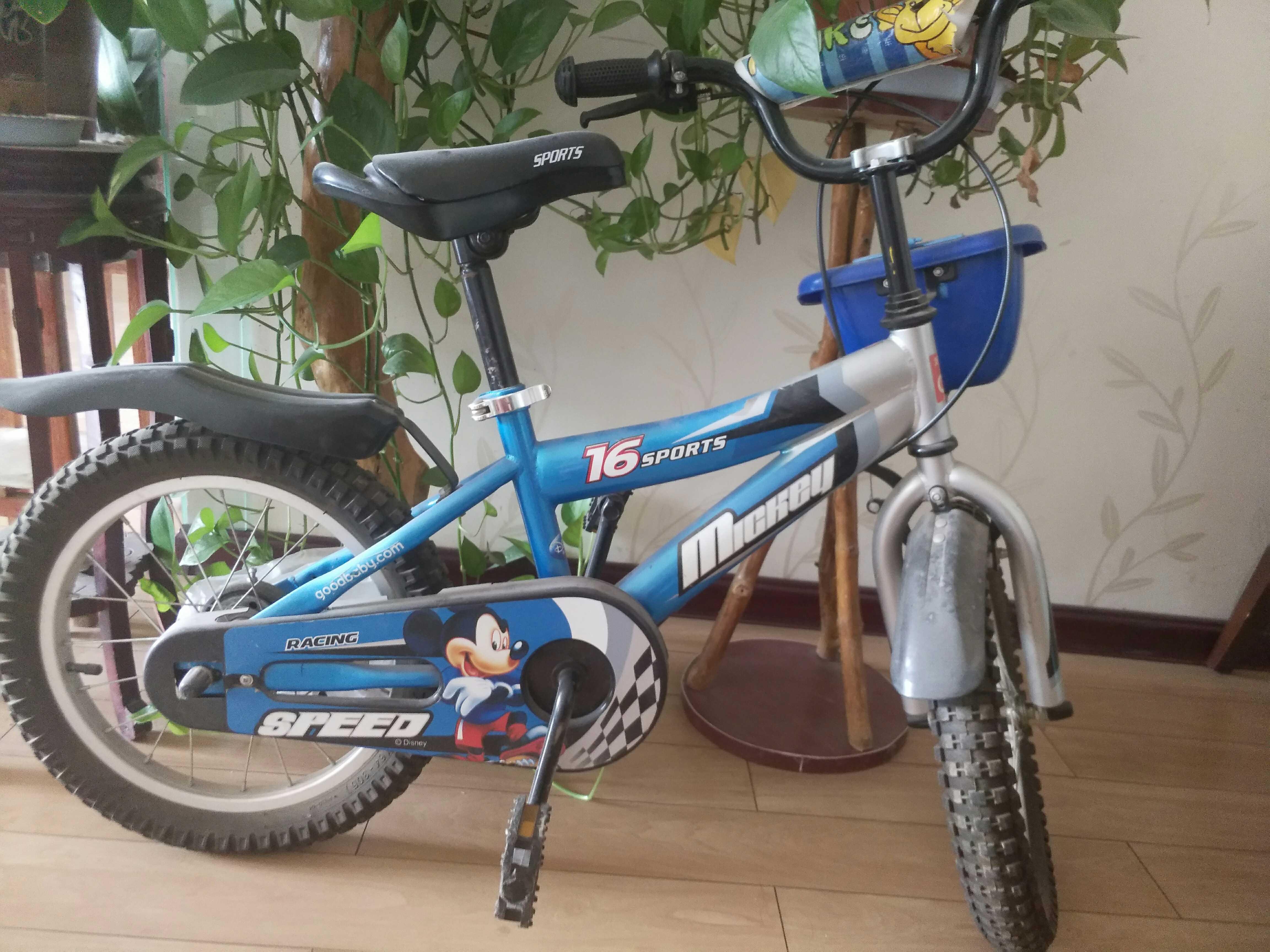 二手正品好孩子16寸儿童自行车jb1652q-k122d 感兴趣!
