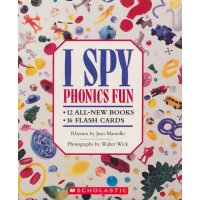 I Spy Phonics Fun Boxed Set With CD (12 Books, 16 Flash...