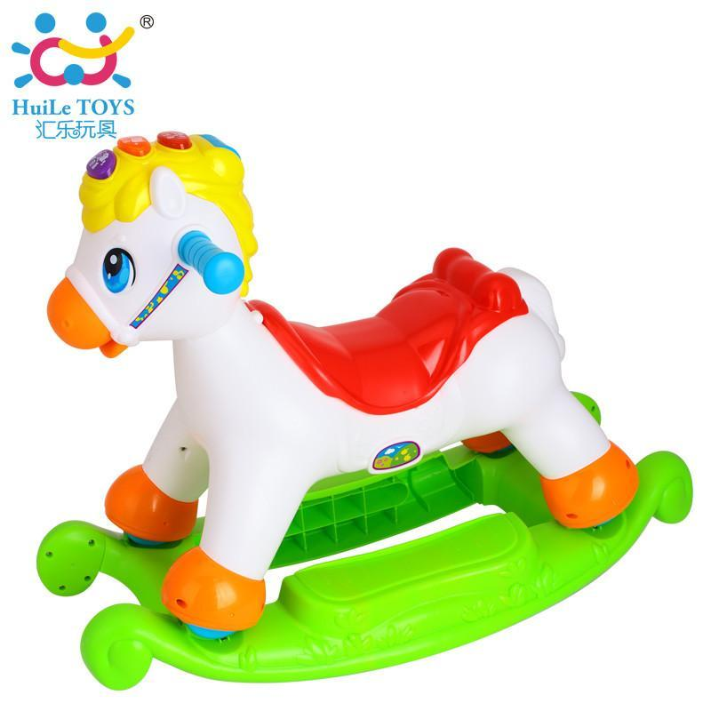Huile TOY'S 汇乐玩具 987 快乐摇摇马  +凑单品