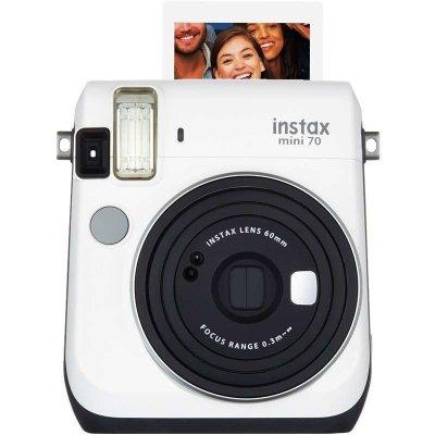 富士(FUJIFILM)INSTAX 一次成像相机立拍立得 mini70相机 皓月白