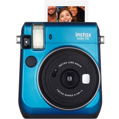 富士(FUJIFILM)INSTAX 一次成像相机立拍立得 mini70相机 冰晶蓝