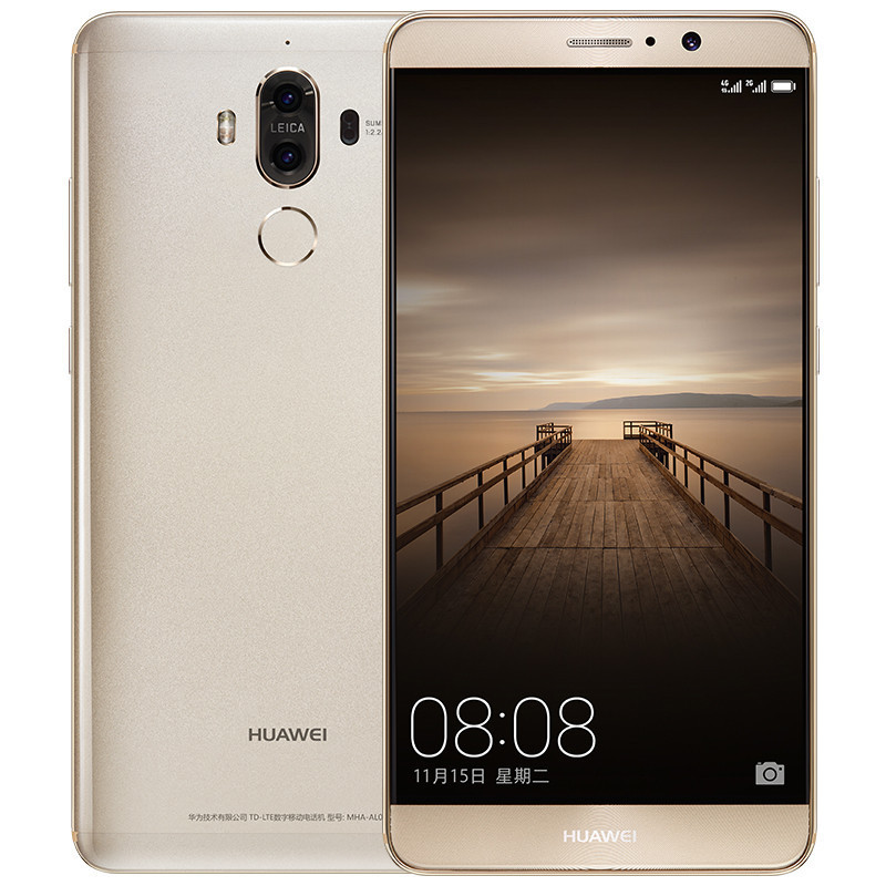 华为mate9(MHA-AL00)4GB+64GB 香槟金 三星 32G(CLASS10 80MB/s)