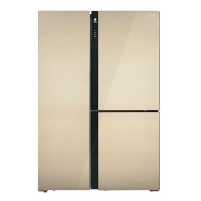 美菱(MELING)BCD-501WUP9B 501升T型多门 对开门冰箱 0.1度变频 风冷无霜 智能WIFI