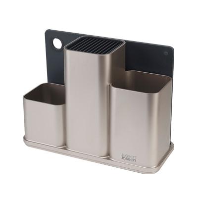 英国Joseph Joseph厨房收纳盒刀具锅铲餐具收纳架菜板置物盒刀架(30.8*13*22.7cm)