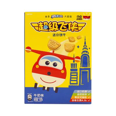 超级飞侠迷你饼干牛奶味120g