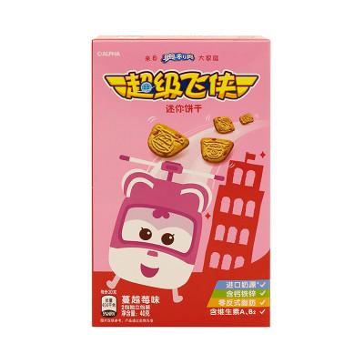 超级飞侠迷你饼干蔓越莓味40g