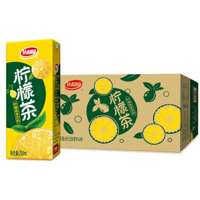 苏宁超市自营 250ml*24包柠檬茶 柠檬味茶饮料 6000ml