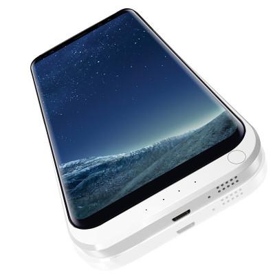 墨一 三星S8/S8 plus大容量背夹电池充电宝无线充电器 s8+移动电源手机壳