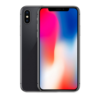苹果(Apple) iPhone X 港版 全面屏手机 5.8英寸 全新未激活 Face ID 深空灰色 256GB